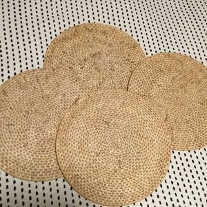 Woven Rafia Placemats (4 in set)